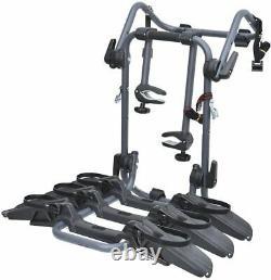 Peruzzo Bike Car Rack Rear Boot Pure Instinct 3 Bike Rear Carrier Black