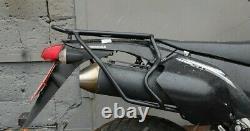 Rare Suzuki Drz 400 Sm Rear Rack Black Bike Accessories Luggage Racks Motorcycle
