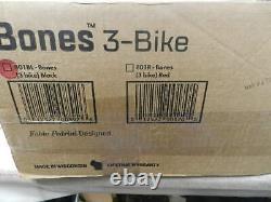 SARIS Bones 3 Bike Rear Car Rack Carrier Cycle Travel Holder Boot Hatch