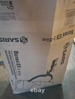 Saris Bones EX 3 Bike Rack Rear Mount Sedan Spoiler Cycle Carrier For Most Cars