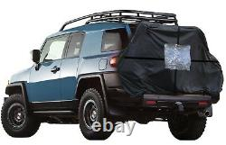 Sumex Car Bicycle Transport Carrier & 2-3 Bike Protection Waterproof Cover BLACK