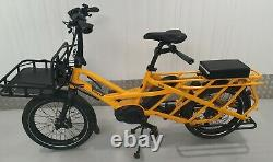 Tern GSD S10 Utility e cargo World P&P Yellow + Front rack Only