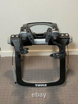 Thule Raceway 2 Bike Car Trunk Rear Hatch Mount Carrier Rack Locks Key