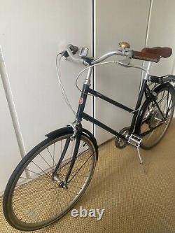 Tokyobike Bisou, Black 50cm (M) with Mudguards and Rear Rack