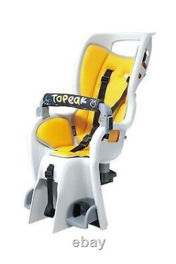 Topeak BabySeat II Child Bike Seat with Rear Bike Rack and Tail Lights (2)