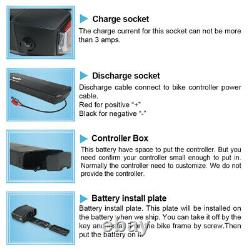 UPP 36V 13AH 17.5Ah Rear Rack Lithuim E-bike Battery for 250W 350W 500W Bicycle