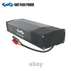 UPP 48V 20Ah Rear Rack Lithium Battery Rechargeable for 250-1000W Elcectic Bike