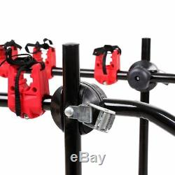 Universal H-DUTY 3Bike Rear Mount Cycle Bicycle Carrier Car Rack Travel Holidays