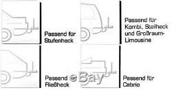 VDP Rear Carrier Naos Eco Bike Rack 2 Wheels Towbar 16-29 Inch