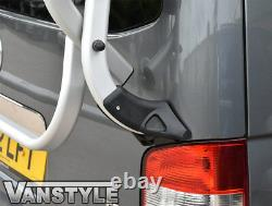 VW CARAVELLE T5 T5.1 GENUINE TAILGATE 4 BIKE BICYCLE HOLDER RACK With GAS STRUTS