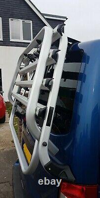 VW Transporter T5.1 Genuine Thule Tailgate 4 Bike Holder Rack Heavy Duty