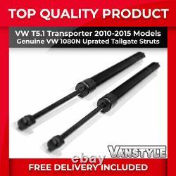 Vw T5.1 10-15 1080n Uprated Heavy Duty Tailgate Bicycle Bike Rack Gas Strut Pair