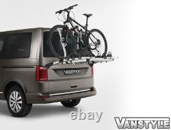 Vw Transporter T6 Genuine Oe Thule Tailgate 4 Bike Bicycle Cycle Holder Rack V1