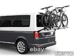 Vw Transporter T6 T6.1 Tailgate Thule Wanderway 2 Bike Bicycle Cycle Holder Rack