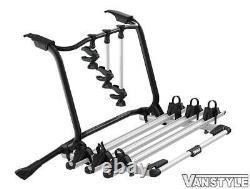Vw Transporter T6 T6.1 Tailgate Thule Wanderway 3 Bike Bicycle Cycle Holder Rack