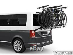 Vw Transporter T6 T6.1 Tailgate Thule Wanderway 4 Bike Bicycle Cycle Holder Rack