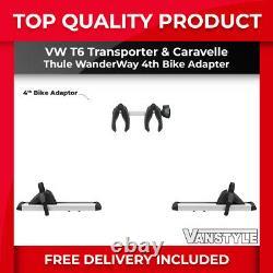 Vw Transporter T6 T6.1 Tailgate Thule Wanderway Rack 4th Bike Adapter Arm Kit