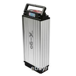 X-go 48V 20Ah 1500W Electrice Bicycle E-bike LED Rear Rack Lithium Battery Kit