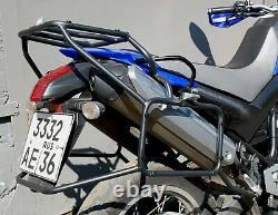 Yamaha XT660R Whole-Welded Luggage Rack Carrier System Black Mmoto YAM0112 BIKE